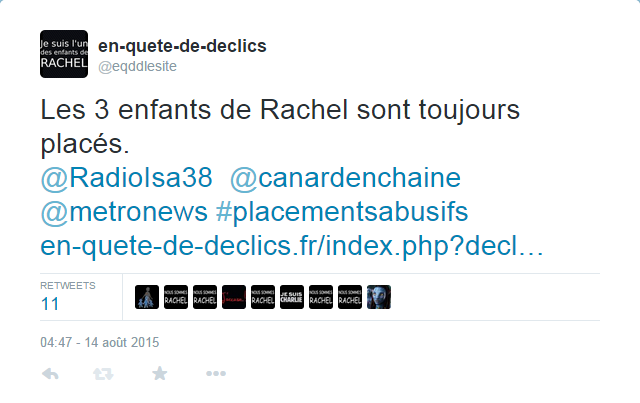 Capture d'un Twitt d'eqddlesite